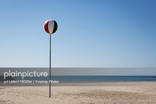 Strand in Südfrankreich - p1149m1183294 von Yvonne Röder