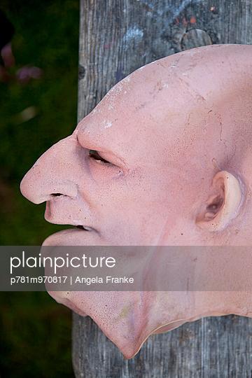 Maske - p781m970817 von Angela Franke