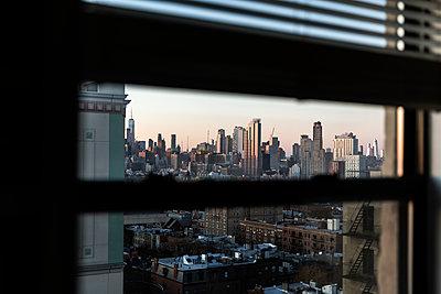 Blick auf New York  - p1094m2057237 von Patrick Strattner