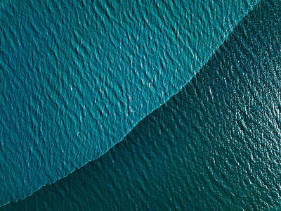 Waves, drone photography - p1455m2204517 by Ingmar Wein