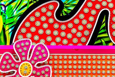 Funfair, Neon sign - p1523m2071447 by Nic Fey
