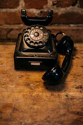 Old telephone - p1621m2248726 by Anke Doerschlen
