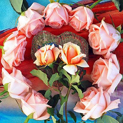 Blumendekoration - p338m2087906 von Marion Beckhäuser
