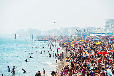 Brighton beach - p652m807659 by Christian Kober