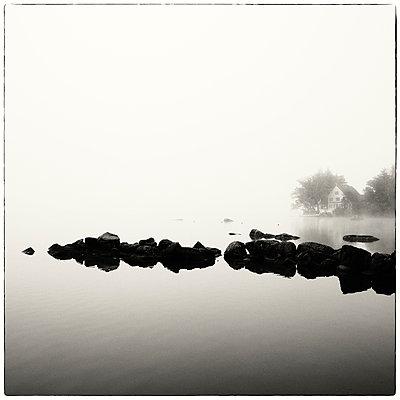 Mist, New Hampshire - p1154m967884 by Tom Hogan
