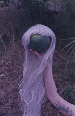 Melon with wig - p1229m2288281 by noa-mar