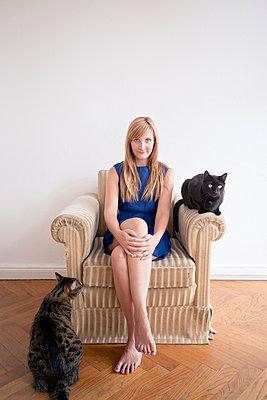Cat lover - p795m946156 by JanJasperKlein