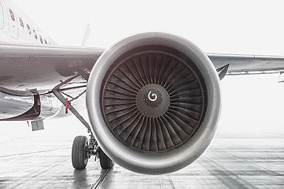 Flugzeug, Turbine - p1275m1201345 von cgimanufaktur