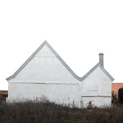 Haus weiß Himmel - p1312m1477549 von Axel Killian