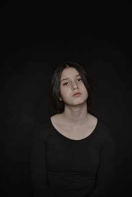 Girl in black - p1432m2257856 by Svetlana Bekyarova