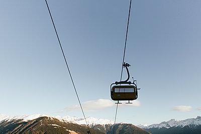 Sessellift in den Alpen - p1357m1510889 von Amadeus Waldner