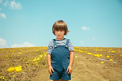 Child Portrait - p1623m2209148 by Donatella Loi