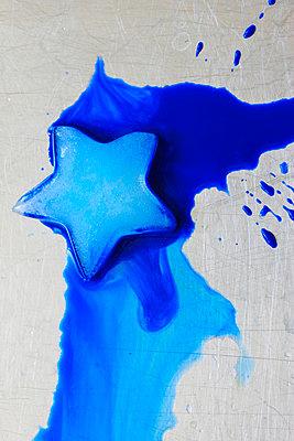Blauer Stern - p450m911985 von Hanka Steidle