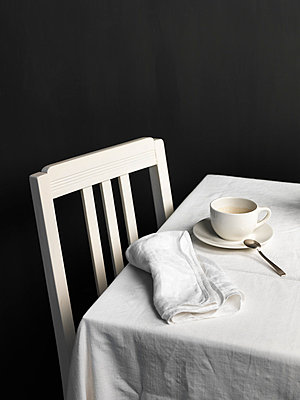 Still life coffee - p1052m791707 by Wolfgang Ludwig