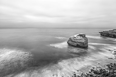 Sunset Cliffs Natural Park. San Diego, California, USA. - p1436m2020738 by Joseph S. Giacalone