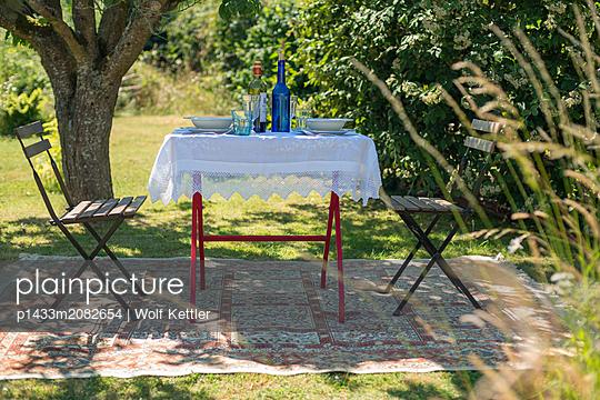 Tisch für zwei - p1433m2082654 von Wolf Kettler