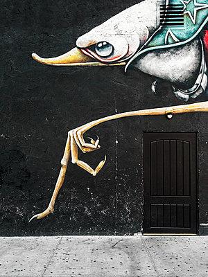 Streetart - p1280m1462403 von Dave Wall