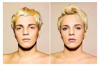 Porträtfotos Transgender - p1462m1516829 von Massimo Giovannini