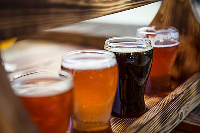 Asheville Beer Flight - p1480m1574759 by Brian W. Downs