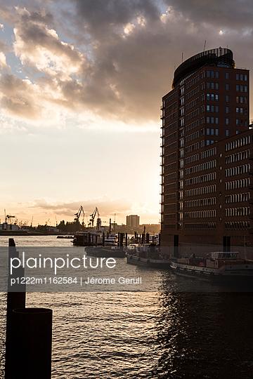 Hafen Hamburg - p1222m1162584 von Jérome Gerull