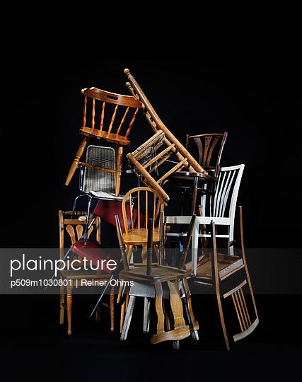 Stühle - p509m1030801 von Reiner Ohms