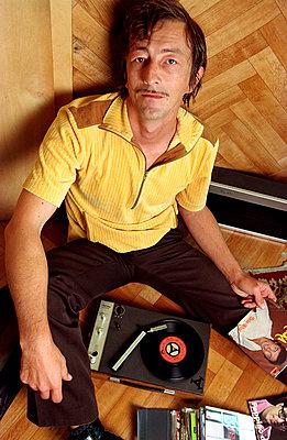 Minischallplattenspieler - p1650096 von Andrea Schoenrock
