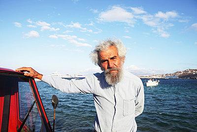 Old greek man - p0452899 by Jasmin Sander