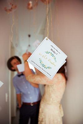Wunschkarten für Brautpaar - p432m2007500 von mia takahara