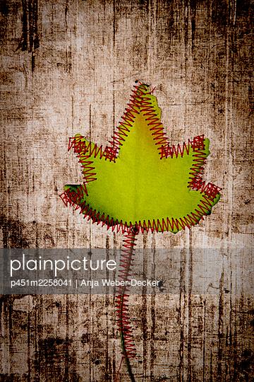 Leaf - p451m2258041 by Anja Weber-Decker