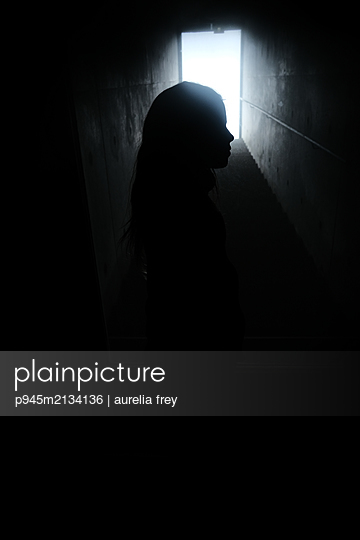 Child in the cellar - p945m2134136 by aurelia frey
