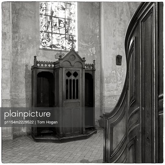 France, Paris, Confessional - p1154m2229522 by Tom Hogan