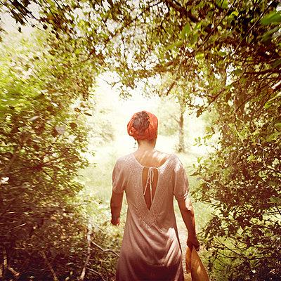 Walking into spring - p1105m882495 by Virginie Plauchut