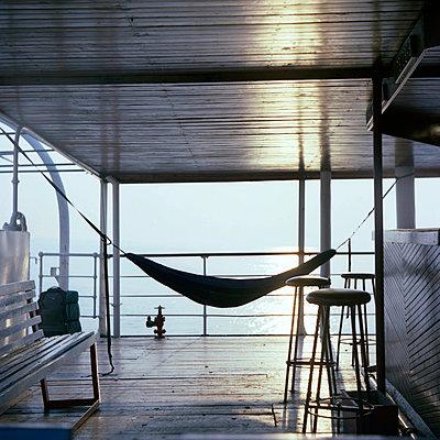 Bar at Ilala Ferry - p1160m951372 by Emilie Reynaud
