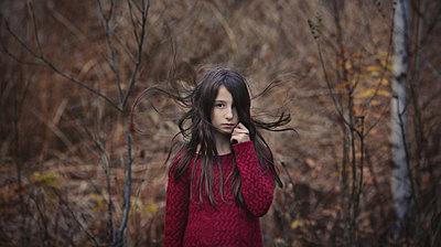 Mädchen in der Natur - p1432m1496471 von Svetlana Bekyarova
