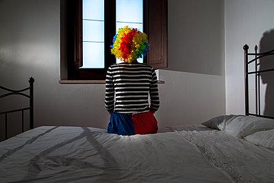 Clown's room - p1623m2209169 by Donatella Loi