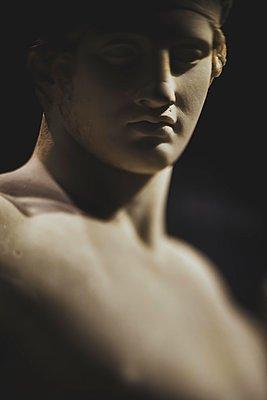 Ancient Greek sculpture - p445m2053346 by Marie Docher
