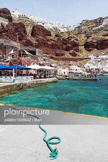 Oia, Greece - p488m1039642 by Bias