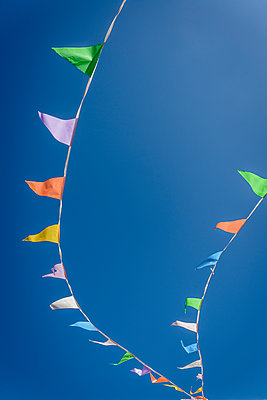Garlands with triangular flags - p1170m2185870 by Bjanka Kadic