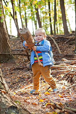 Playing in the forest - p901m758847 by St. Fengler