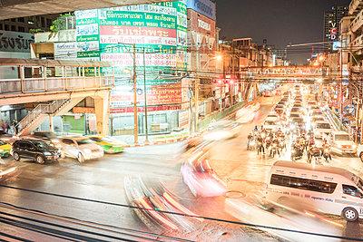 Bangkok Dämmerung - p1380m1441896 von van Dowski