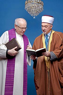 Imam und Pfarrer  - p5440125 von Georg Lenz