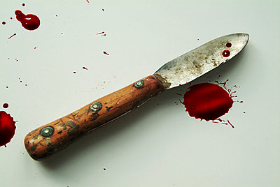 Bloody knife - p3750174 by whatapicture
