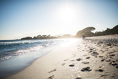 Beach walk under the sun  - p1007m1540374 by Tilby Vattard