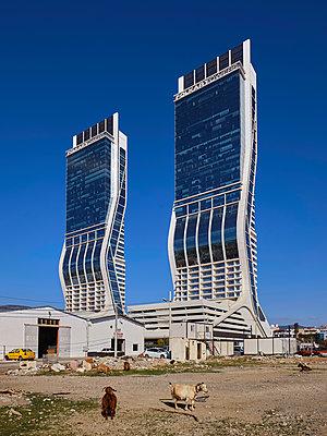 Turkey, Folkart Towers in Izmir - p390m2254460 by Frank Herfort