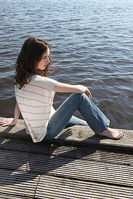 Tag an der Alster - p045m658410 von Jasmin Sander
