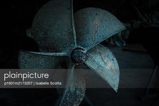 Schiffsschraube - p1601m2173207 von Isabelle Scotta