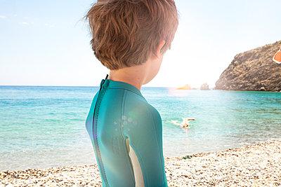 Schwimmen - p454m2037728 von Lubitz + Dorner