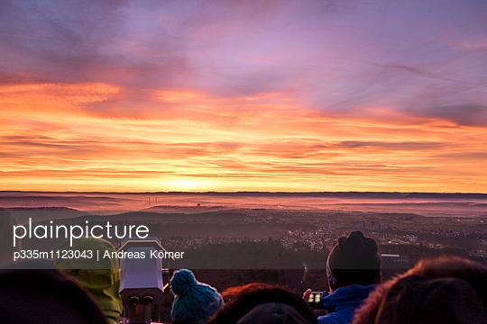 Blick über Stuttgart - p335m1123043 von Andreas Körner