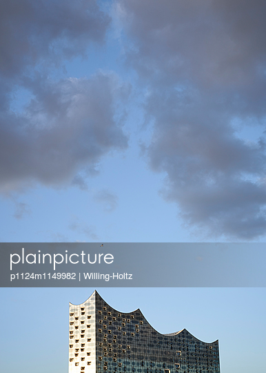 Elbphilharmonie Anschnitt - p1124m1149982 von Willing-Holtz