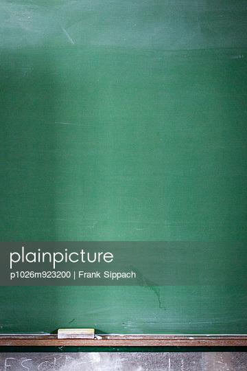 Tafel mit Kreide - p1026m923200 von Frank Sippach
